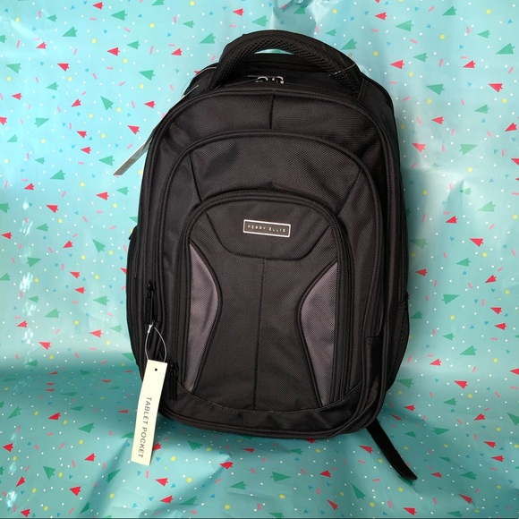 43a178aed40a Perry Ellis Portfolio Laptop Backpack K419 NWT